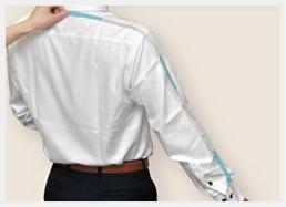 シャツのサイズの測り方